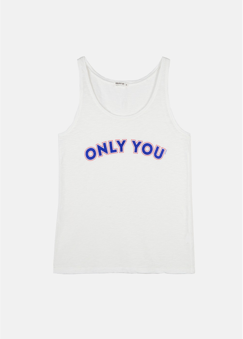 CAMISETA SIN MANGAS ONLY YOU