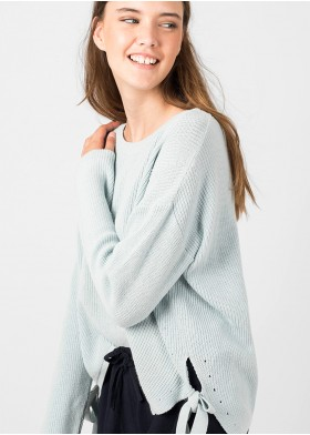LIBERTY SIDE BOWS SWEATER
