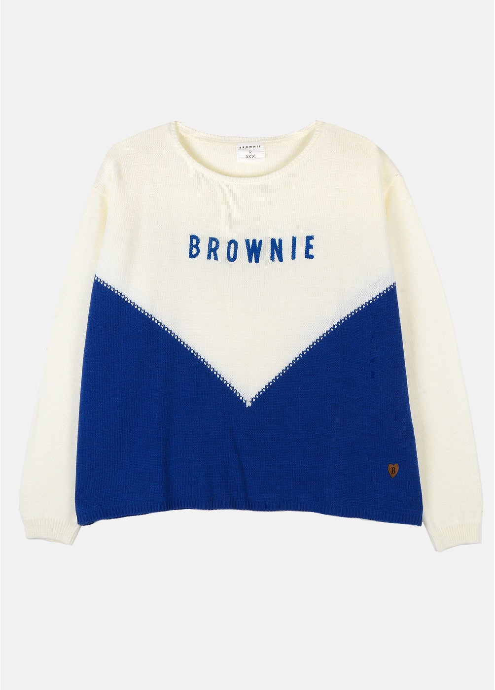 JERSEY C/ REDONDO BROWNIE BICOLOR MUST