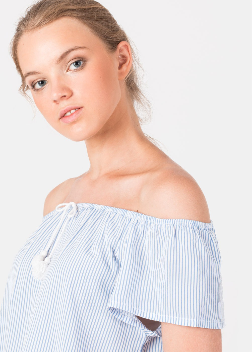 INA STRIPED BLOUSE