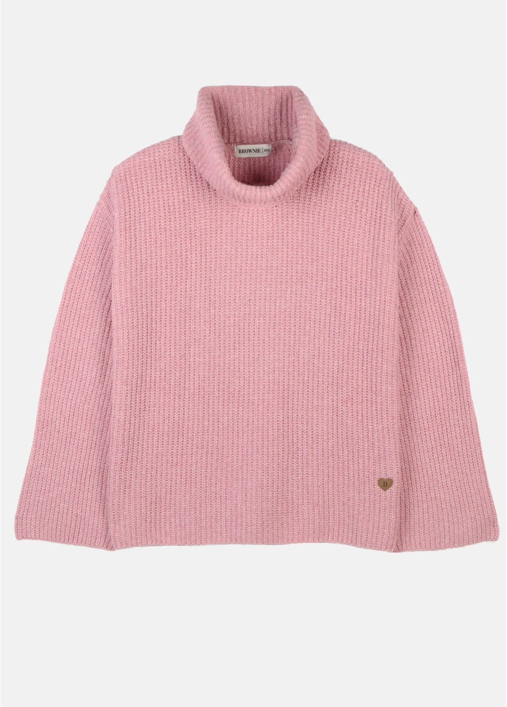 MARNI HIGH NECK FLARED SLEEVE SWEATER