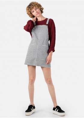 CHLOE GINGHAM PLAYSUIT