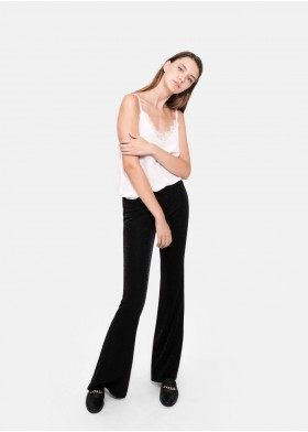 SIMONA SHINE FLARED PANTS