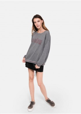 CHERI EMBROIDERED SWEATSHIRT