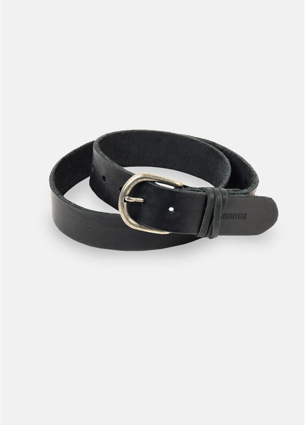 Cinturón básico piel
