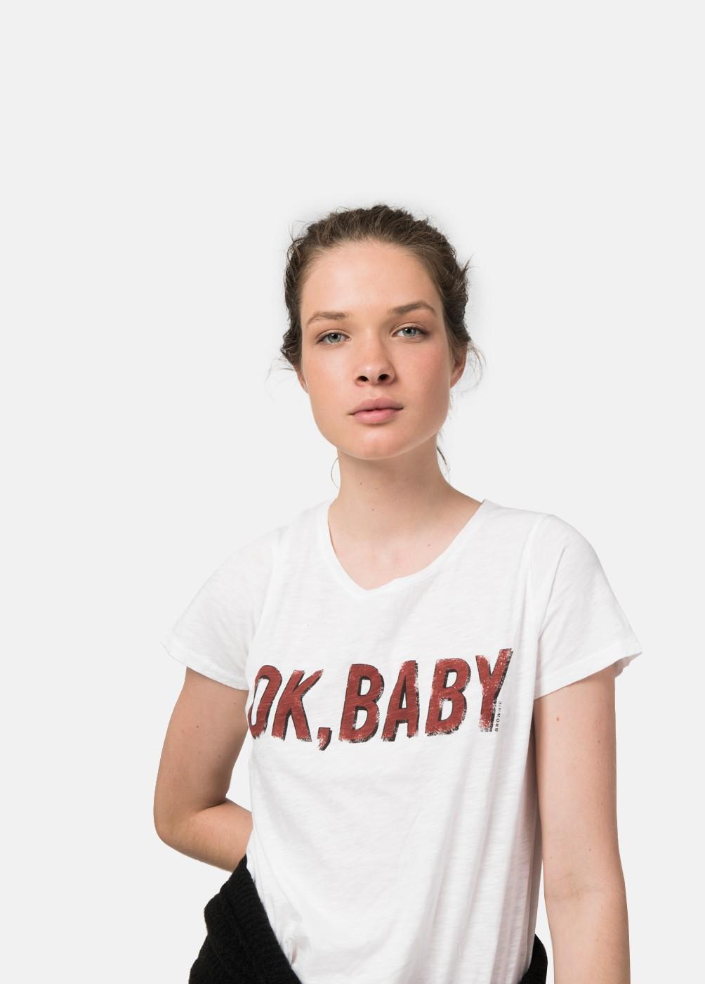 CAMISETA OK BABY M/C C/RED