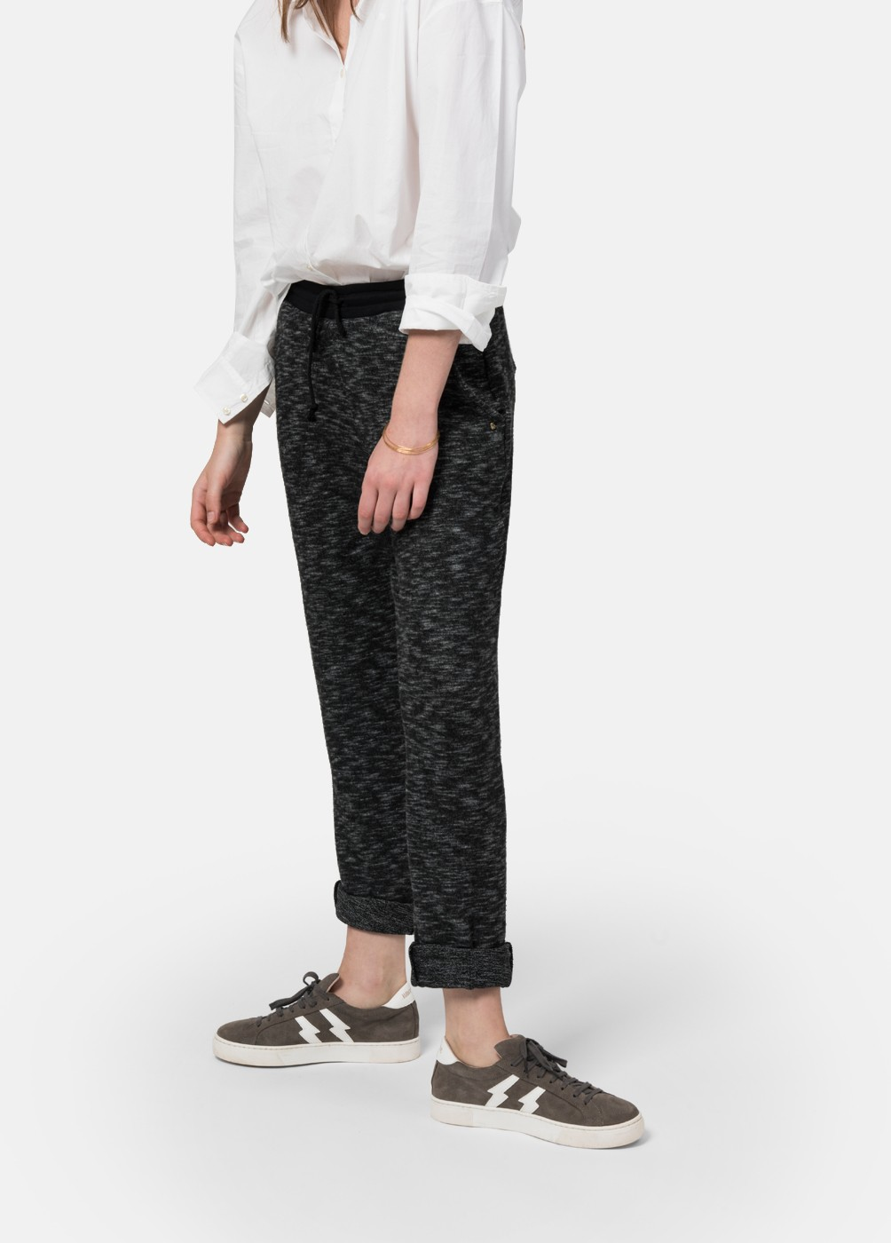 PANTALON CONFORT LARGO PERCHADO CONFORT