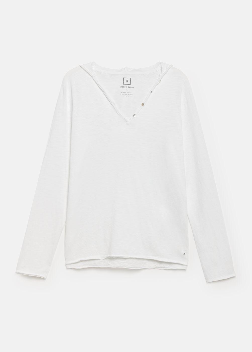 Hoodie long sleeve basic t-shirt