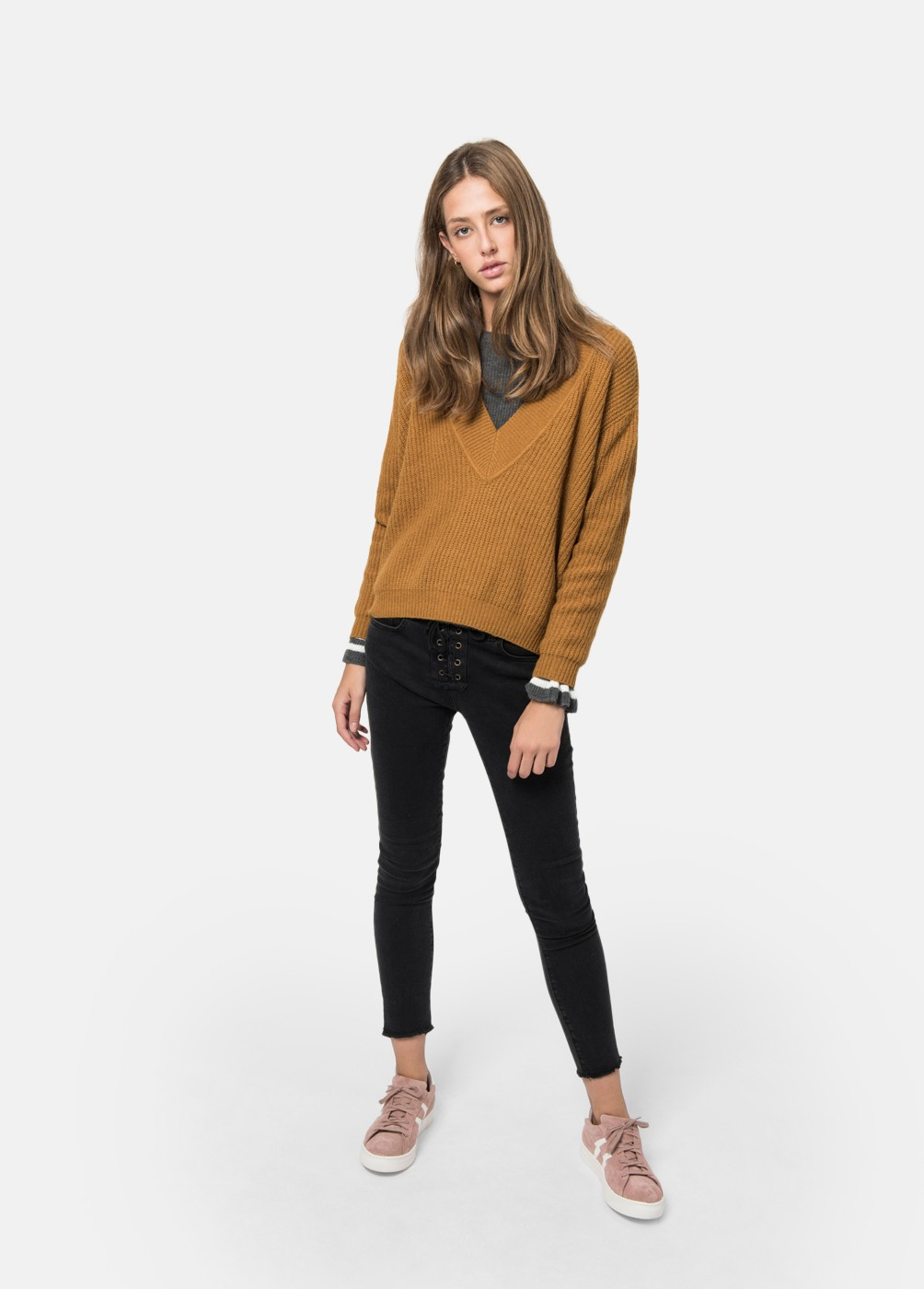 Cecile V-Neck Sweater