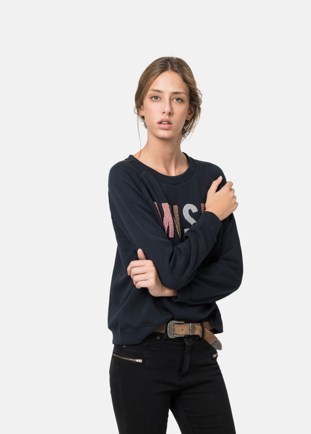 MUSE EMBROIDERED SWEATSHIRT