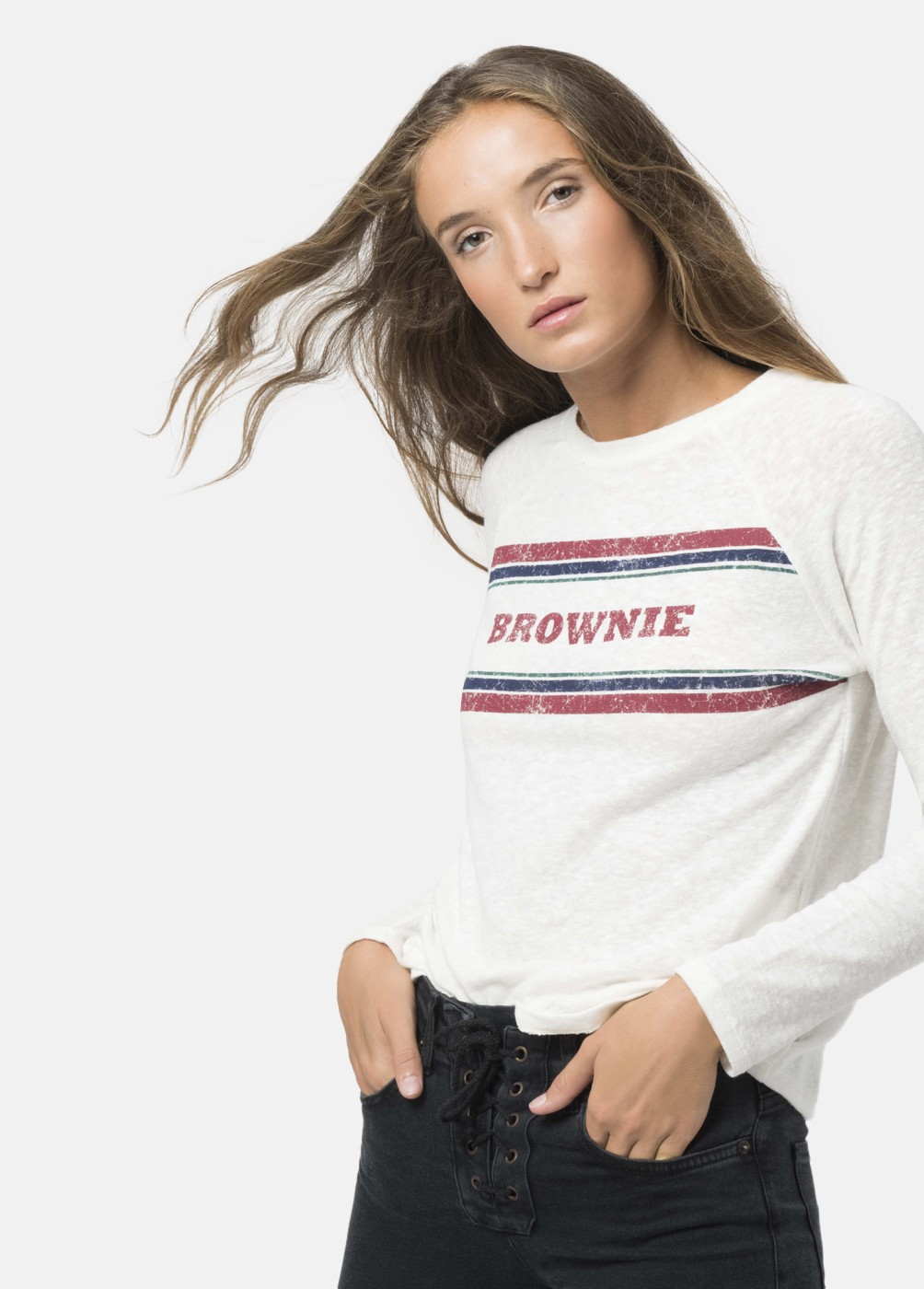 STRIP BROWNIE STRIPED SHIRT