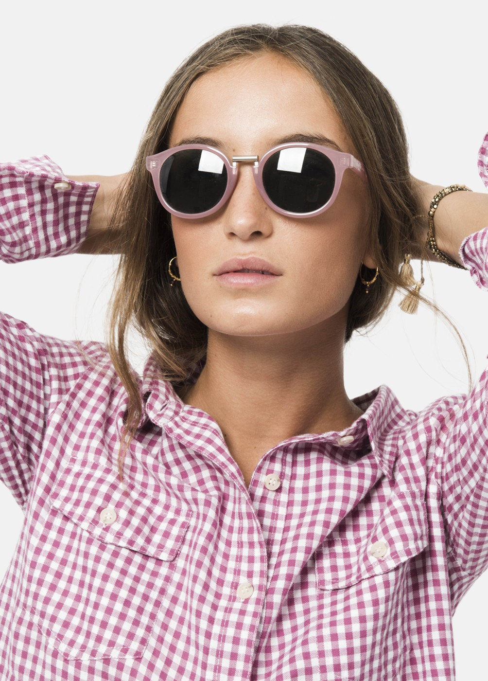 CAMISA BELLY VICHY CROPPED