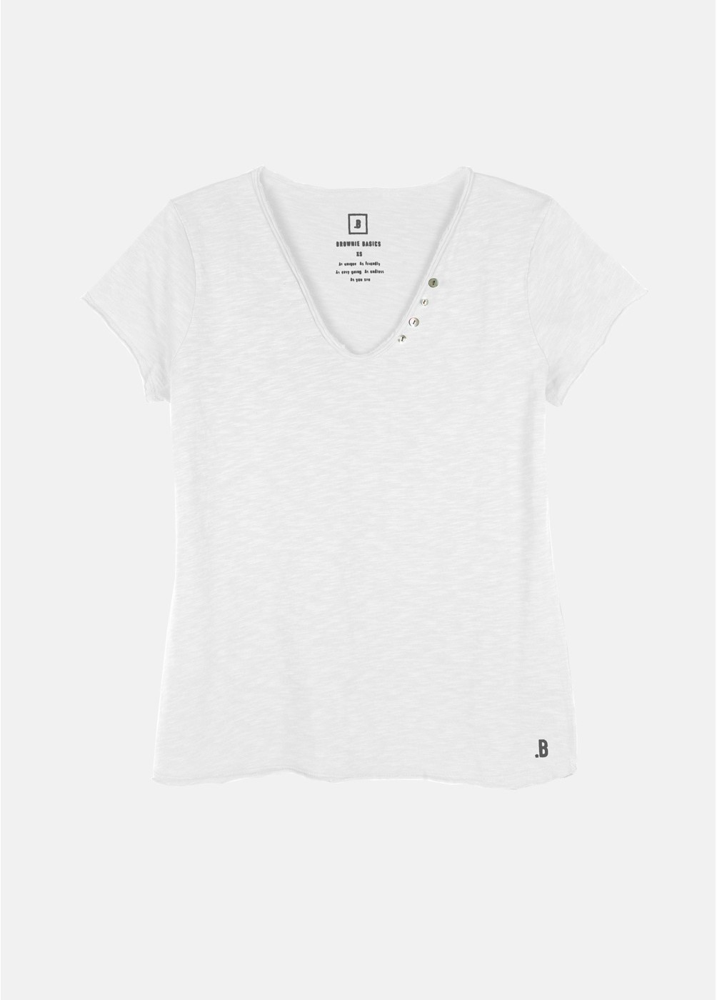 Camiseta botones blanca2