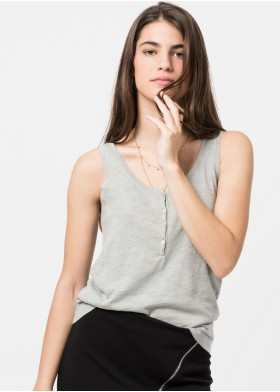 NINA BASIC WIDE STRAPS SHIRT
