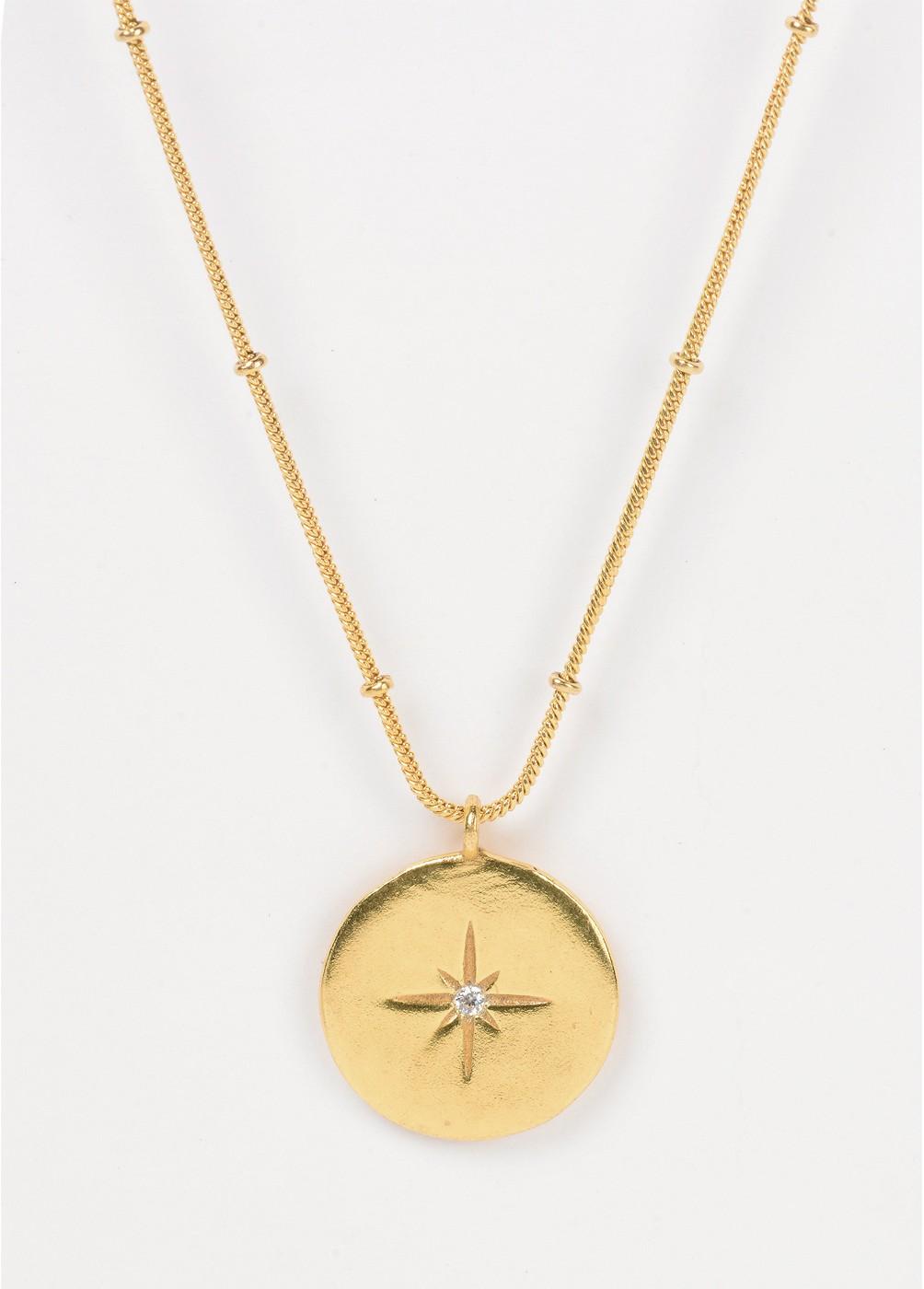Colgante medalla estrella