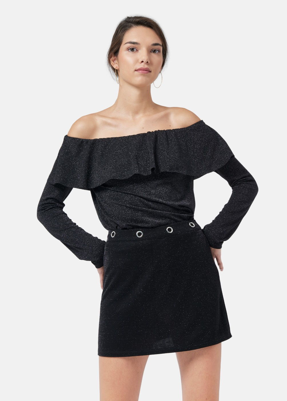 Lua ruffled blouse