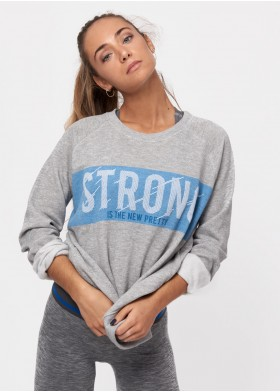 SUDADERA GYM STRONG STRONG