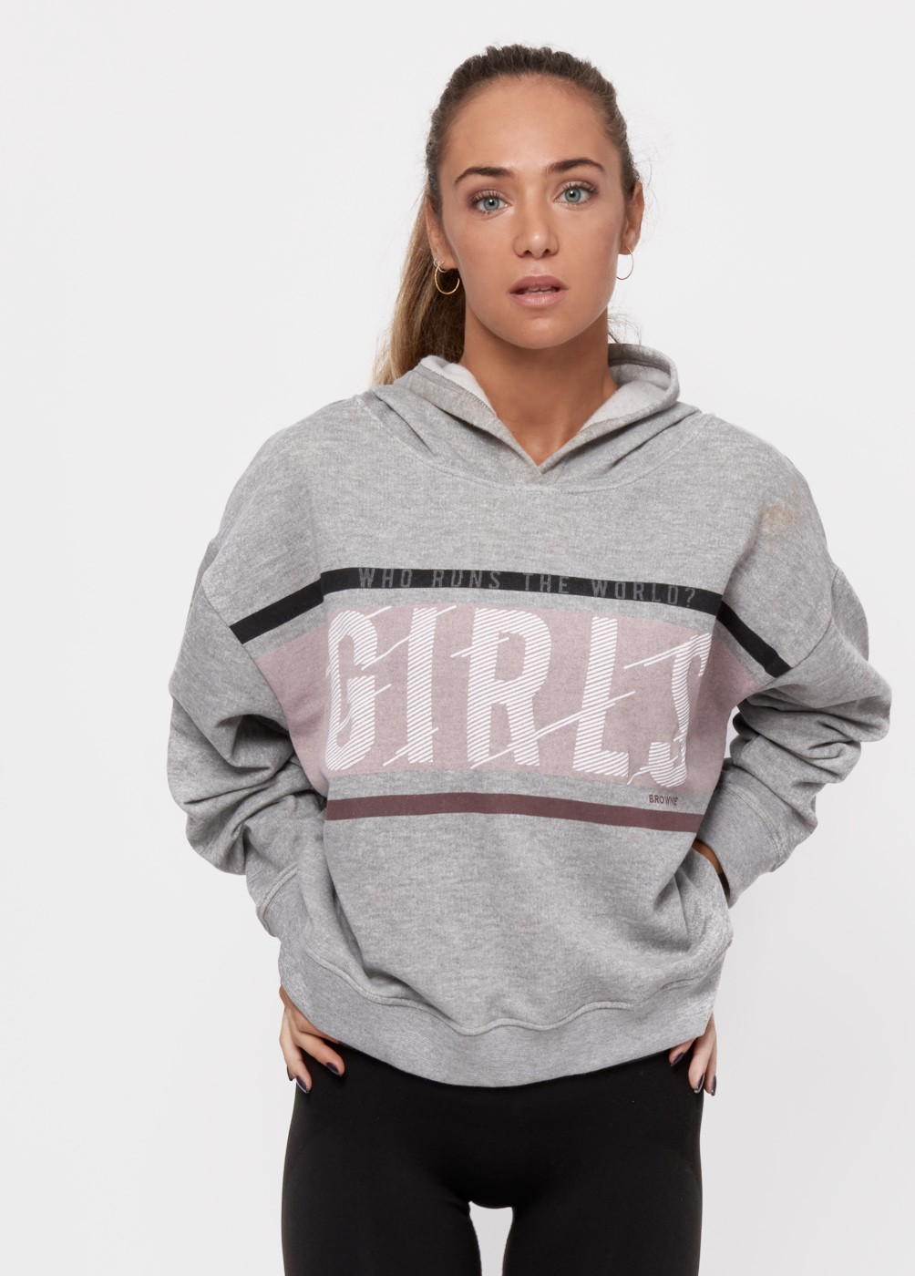 SUDADERA GIRLS CAPUCHA GYM GIRLS