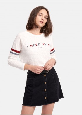 CAMISETA NEED YOU NEED YOU