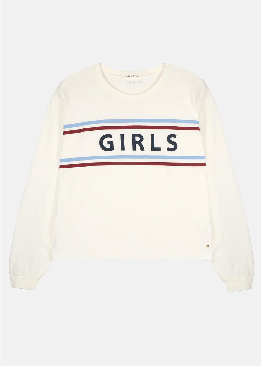 CAMISETA GIRLS M/L C/R GIRLS