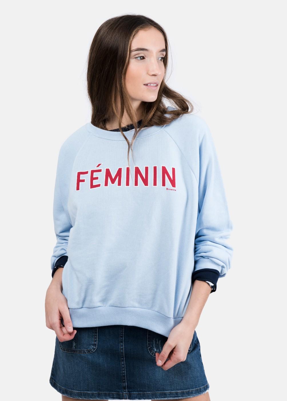 SUDADERA PRINT FEMININ