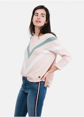JULIA STRIPED SWEATER