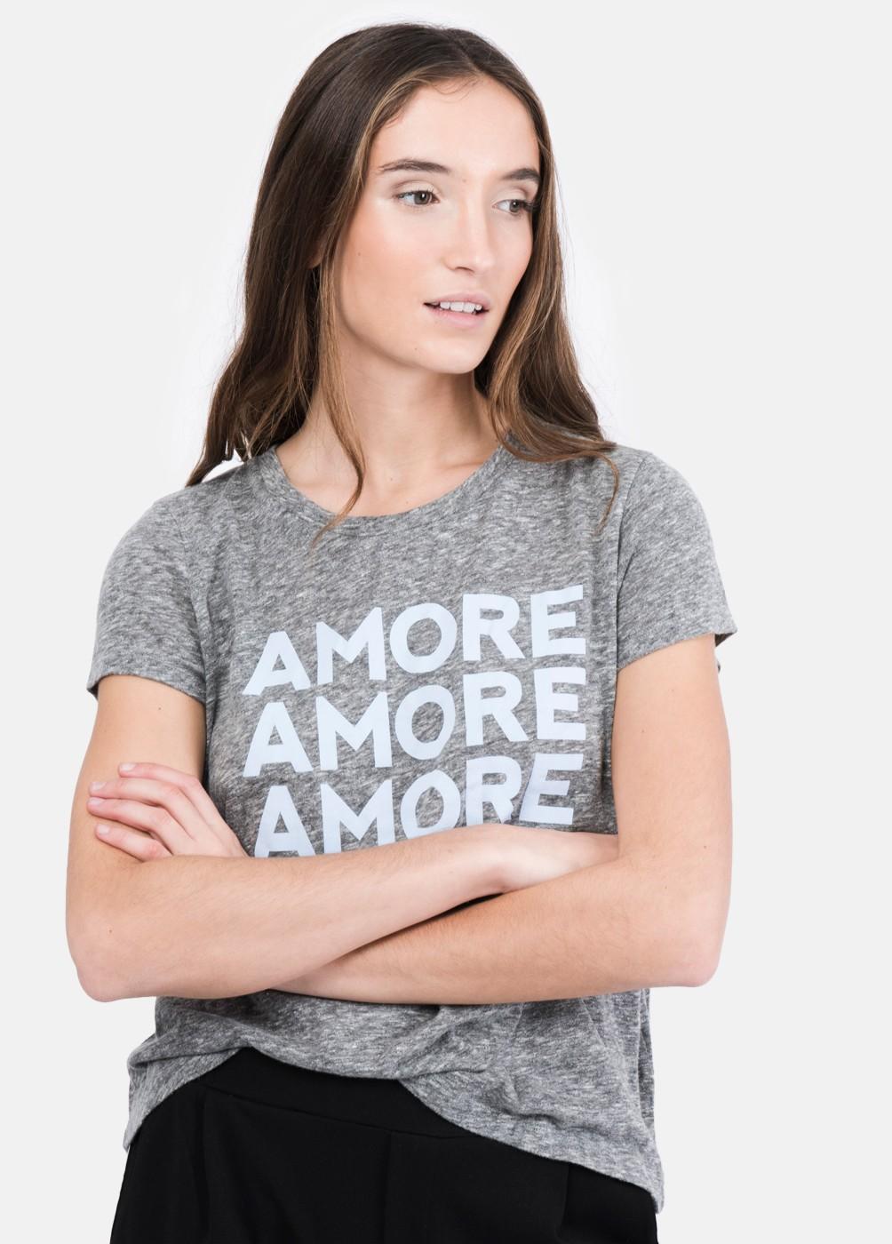CAMISETA AMORE C/R M/C AMORE