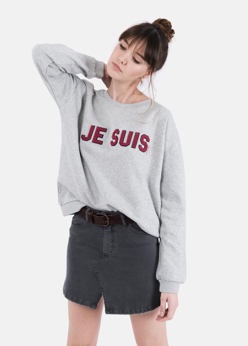 SUDADERA JE SUIS JESUIS