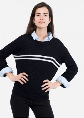 AINA STRIPES SWEATER