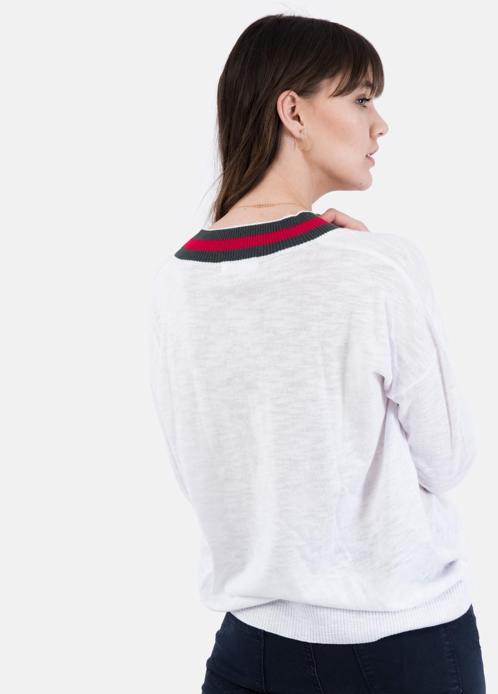 Jersey Fusion cuello pico