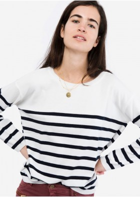 striped sweater IRON WAVES