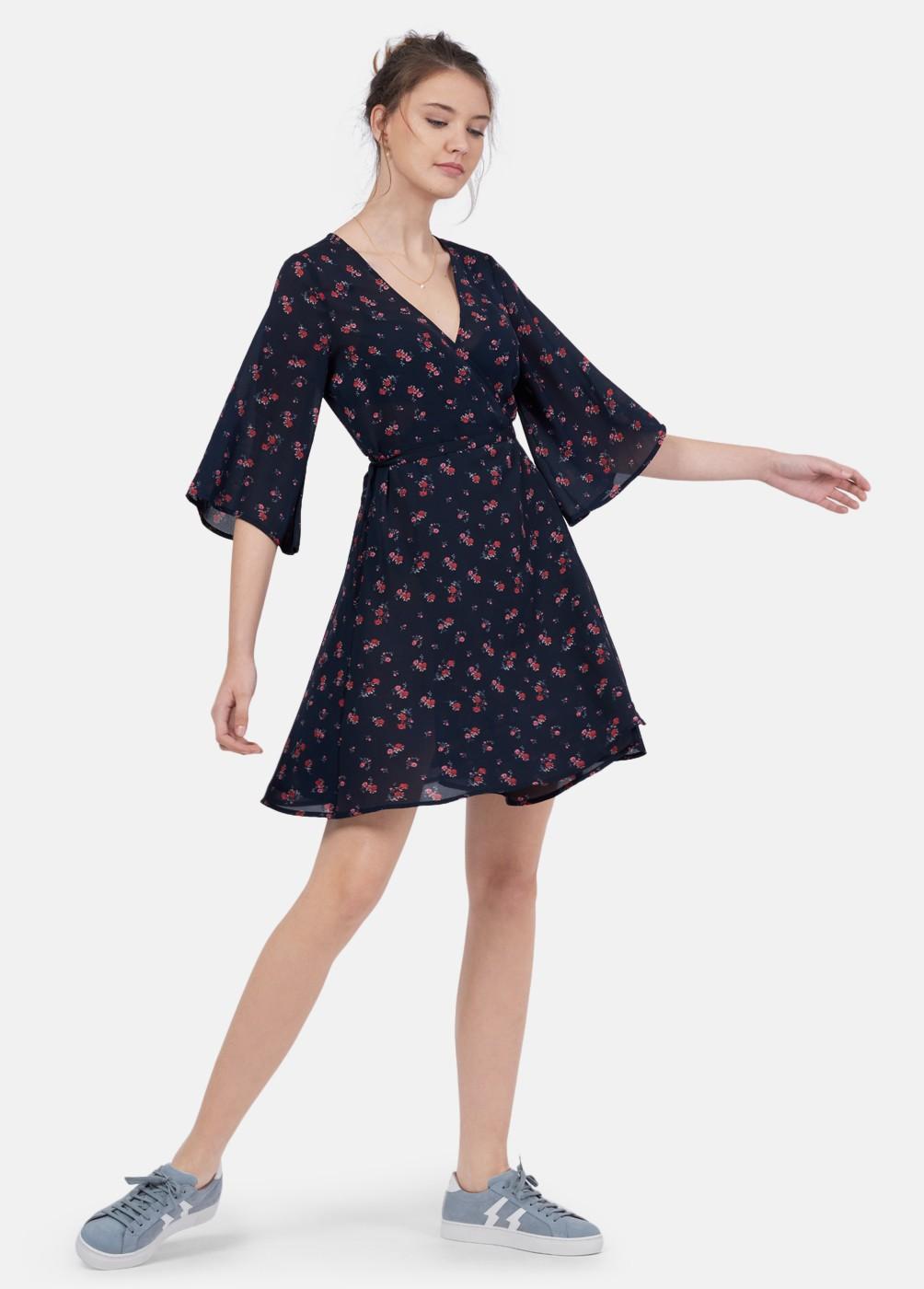 Sarita printed dress