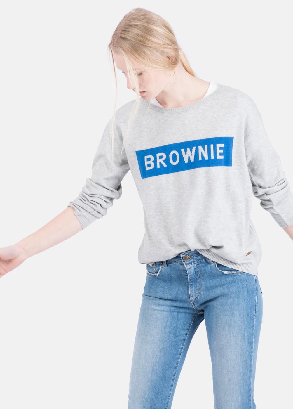 GALA SWEATER BROWNIE