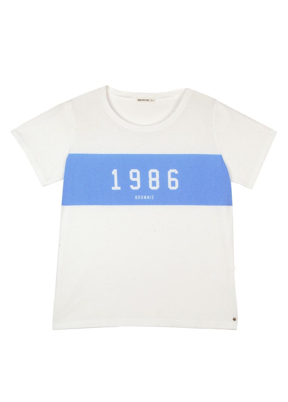 CAMISETA M/C ESTAMPADA 1986 TIMES