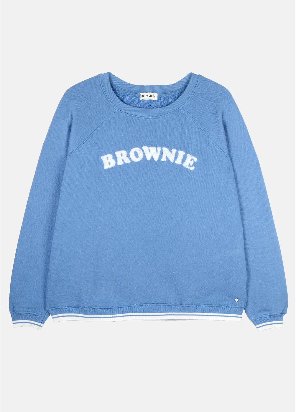 SUDADERA BROWNIE BORDADA BROWNIES