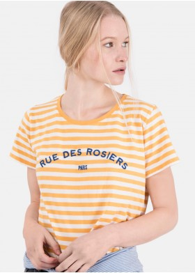 CAMISETA RUE M/C RAYAS GIRLS