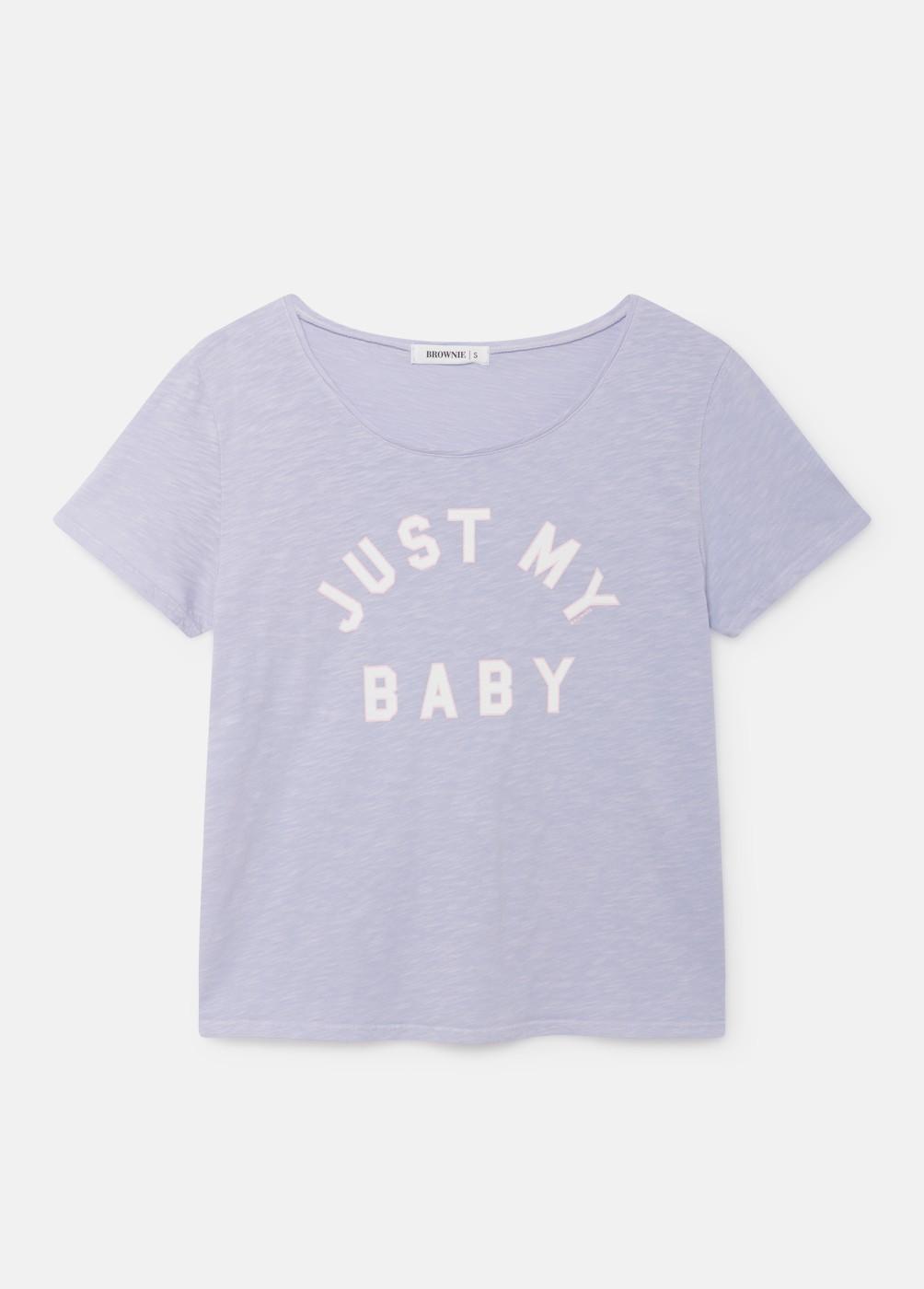 CAMISETA BABY C/R M/C ESTAMPADA BABY