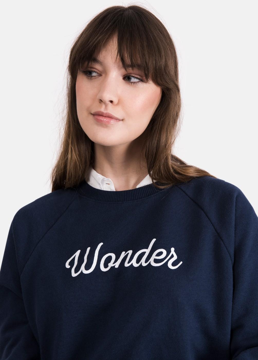 SUDADERA WONDER ESTRELLAS MANGAS
