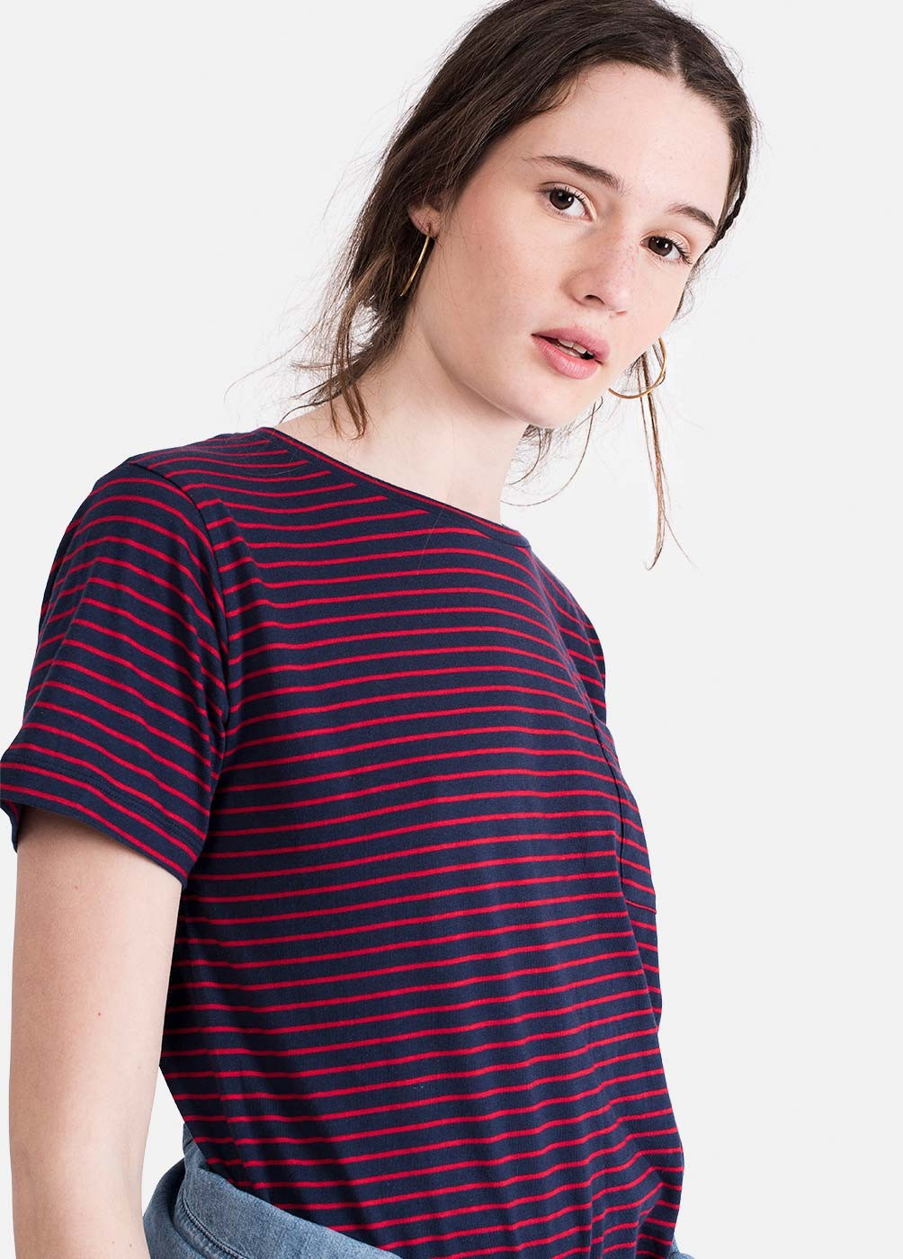 CLAUDIA STRIPED TSHIRT