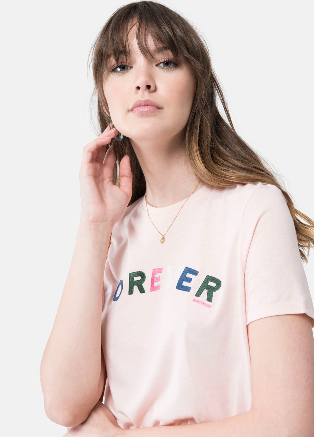 CAMISETA FOREVER LETRAS COLORES FOREVER