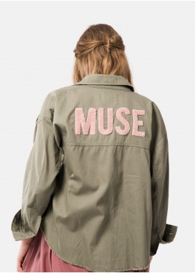 CHAQUETA BORDADA MUSE