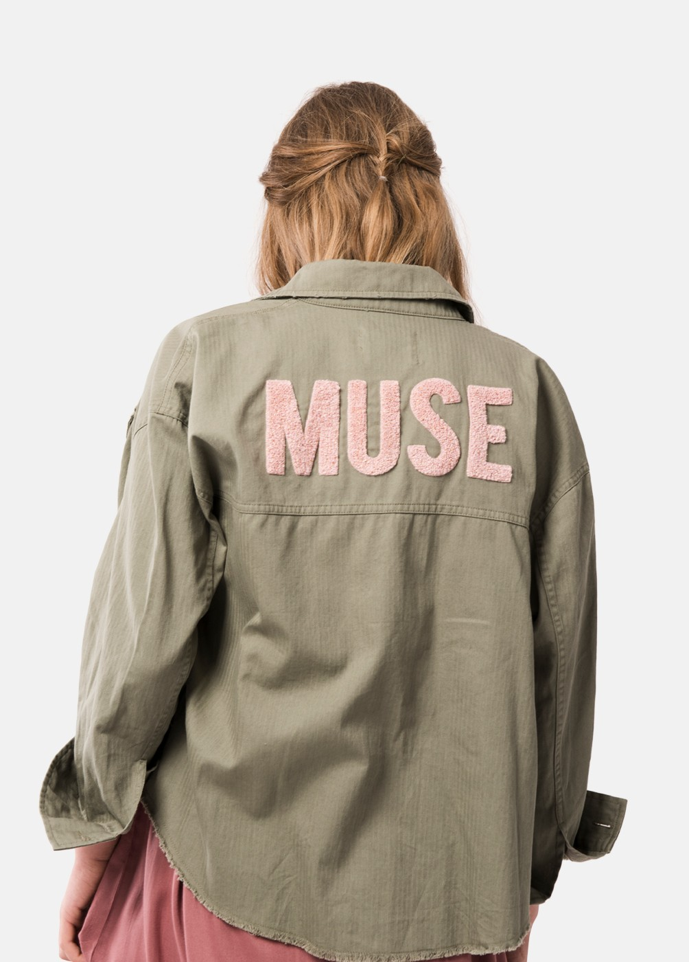 CHAQUETA MUSE BORDADA