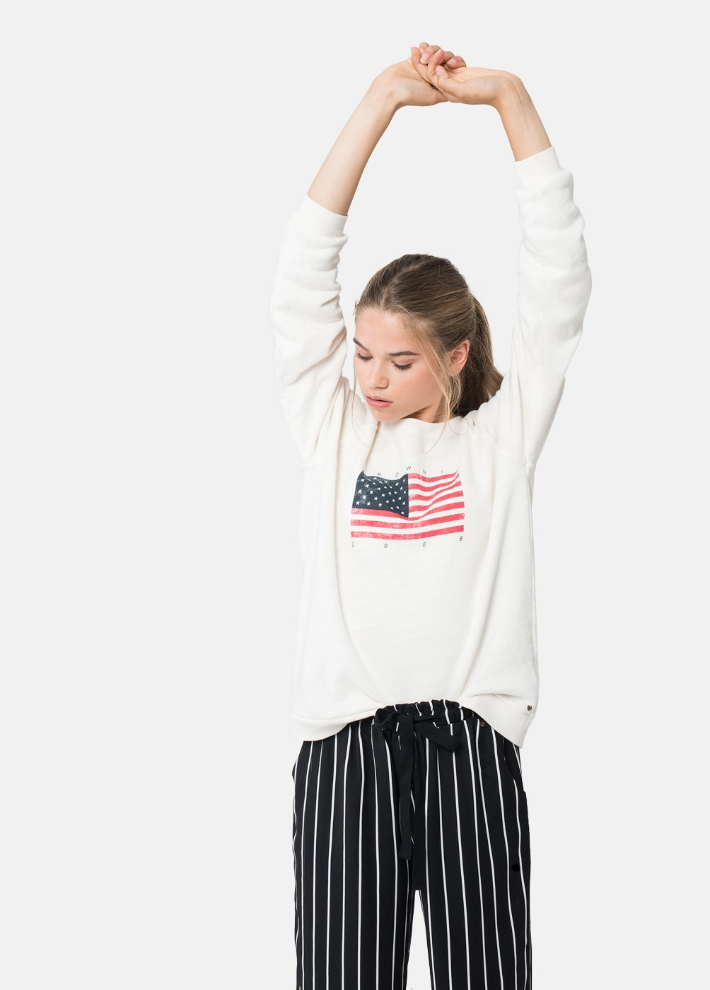 BROWNIE FLAG JUMPER