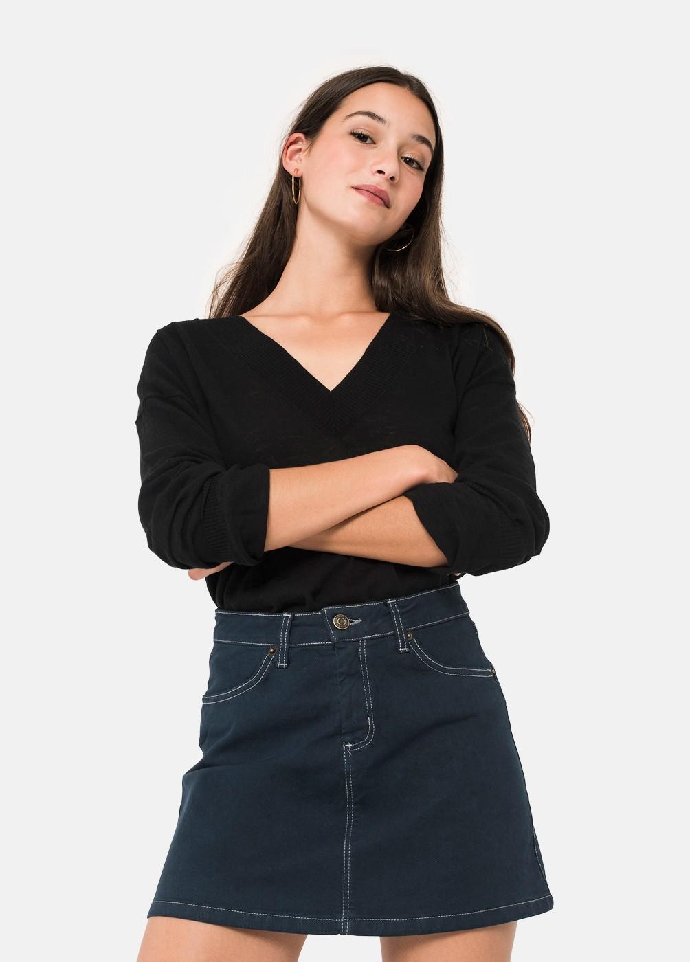 Falda Sarah Contrastes