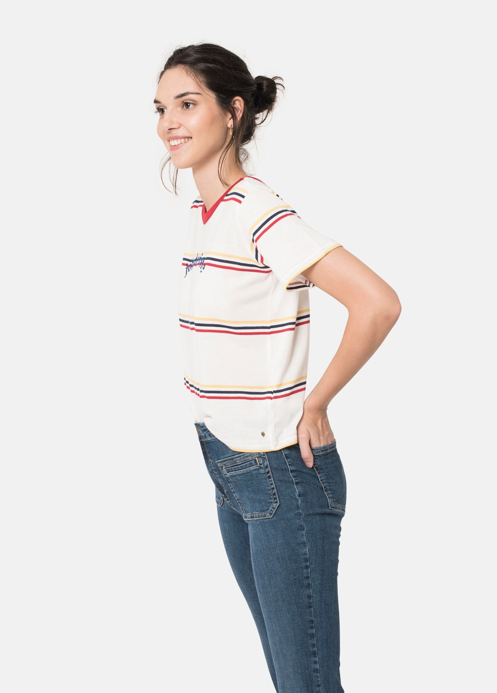 Camiseta Joie Rayas