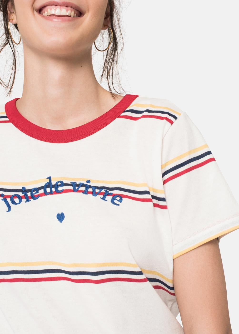 JOIE STRIPED T-SHIRT