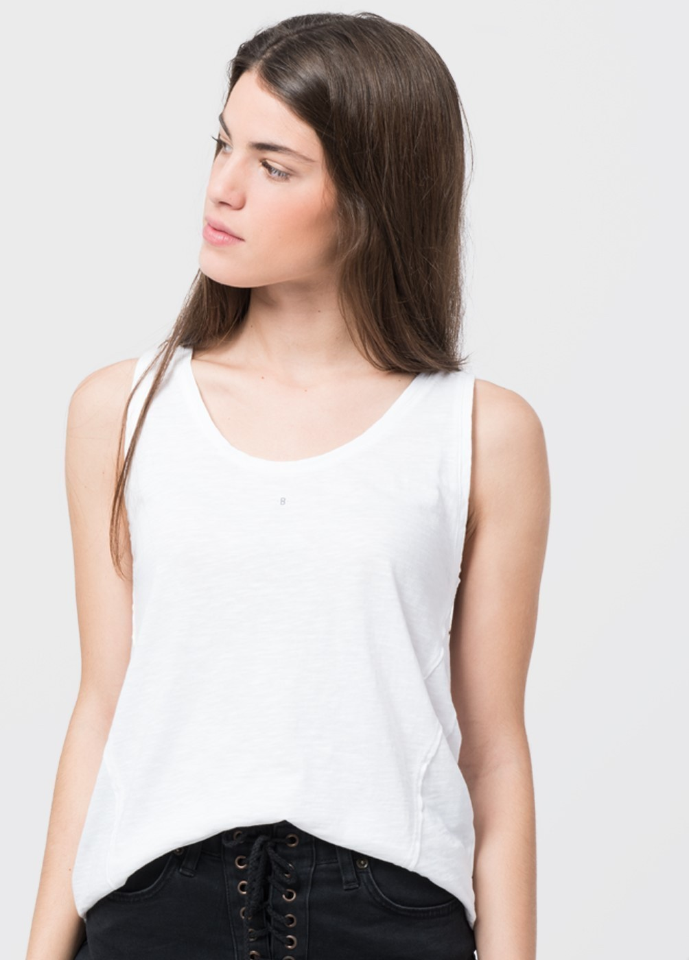 VERA STRAPPED T-SHIRT