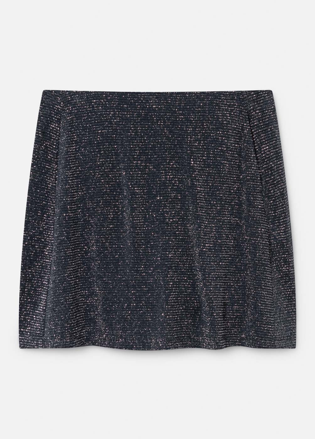 INDIA KNITTED SKIRT WITH INNER POCKET