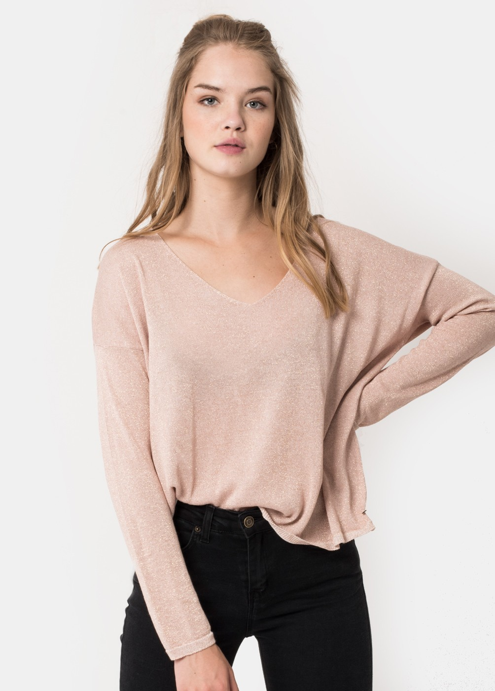 CHIC LUREX JUMPER