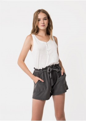 DORITA BOWED TENNIS SHORTS